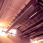 Sports Hall Radiant Panels