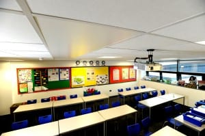 Radiant heating panels - Modern heating solutions for schools