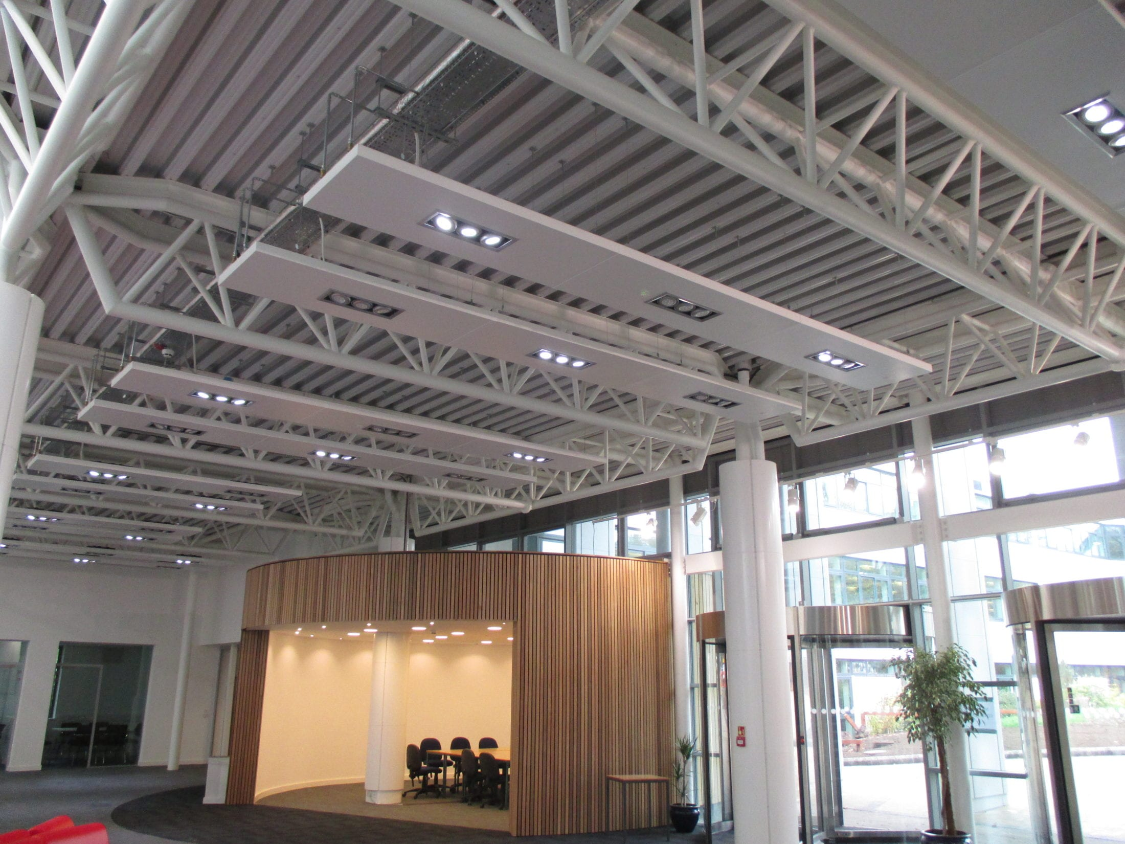 radiant ceilings service ceiling heating lighting solray warwickshire bespoke college panels rafts cost multi