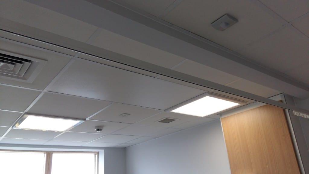 Ayr Hospital CAU, Trident Panel in Ceiling