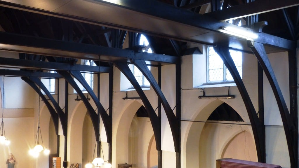 Solray Radiant Panels at St Silas Church in North London