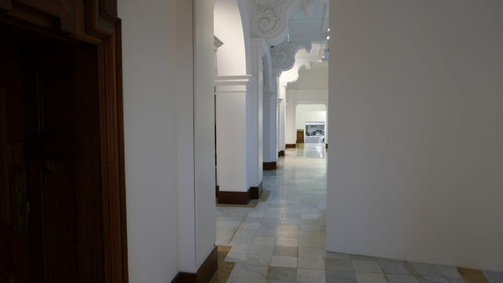 Bespoke Solray Electric Wall Panels at the Glynn Vivian Art Gallery in Swansea