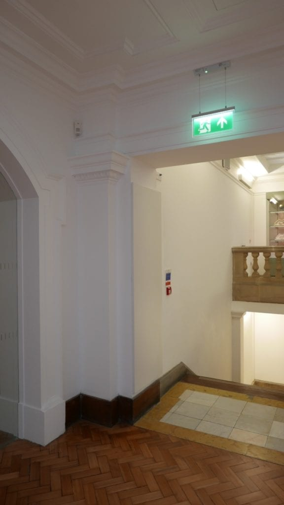 Bespoke Solray Electric Wall Panels at the Glynn Vivian Art Gallery in Swansea