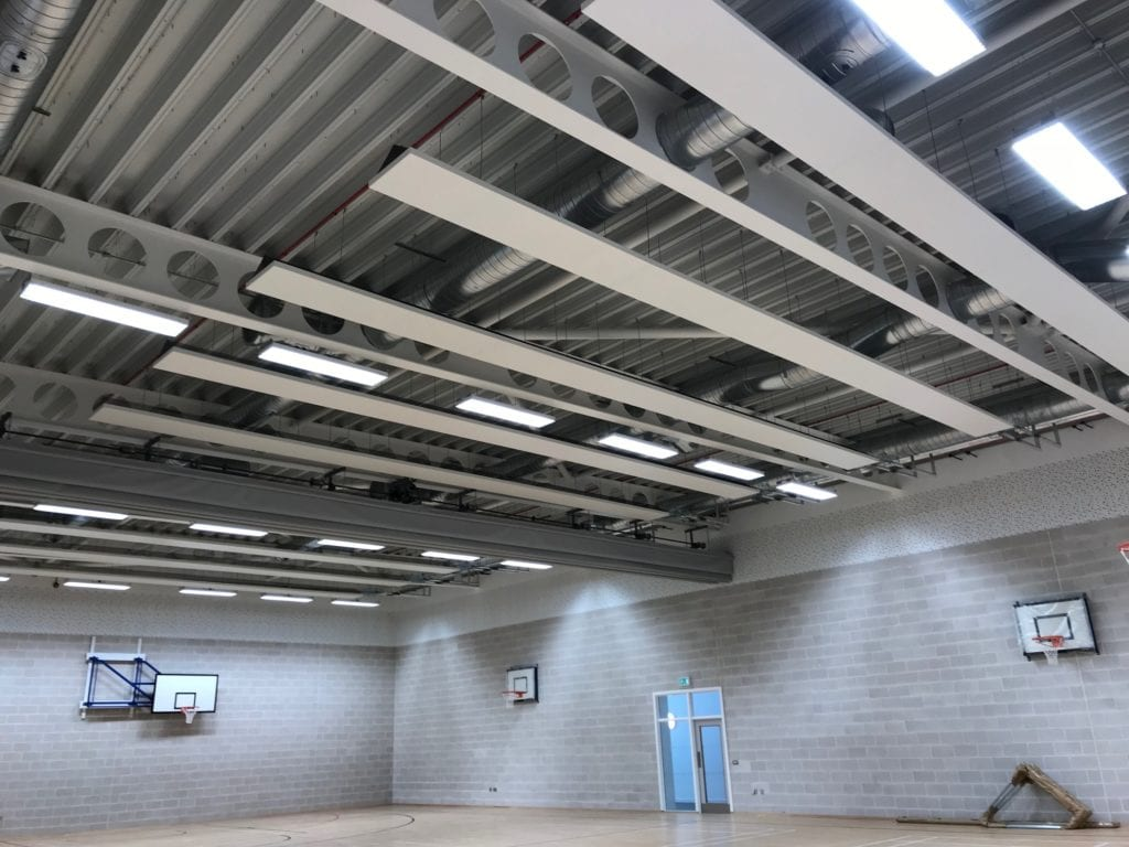 Solray Free Hanging Panels at the Blackburn Partnership Centre