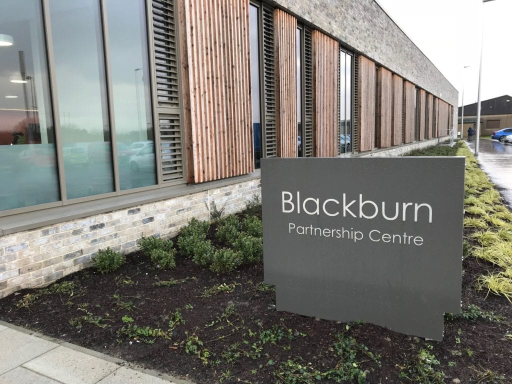 The new Blackburn Partnership Centre