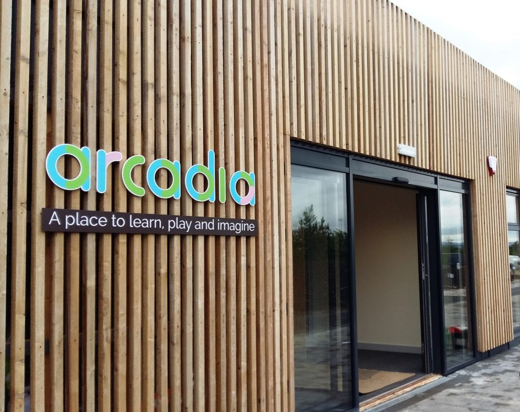 The new Arcadia Nursery at the University of Edinburgh