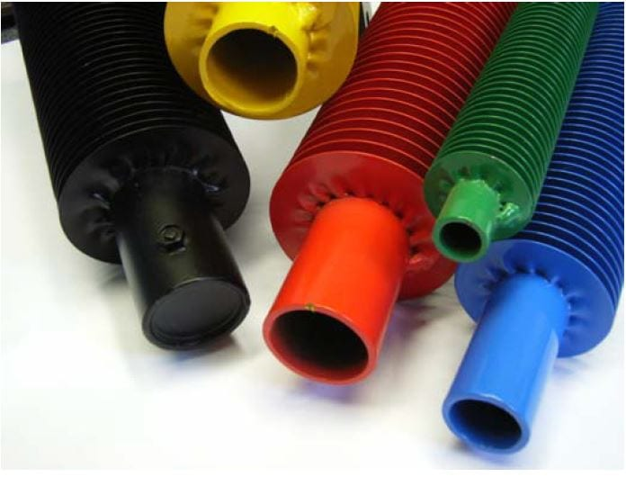 Finned Tube & Gilled Tube Heaters
