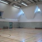 Sports Hall Radiant Panel