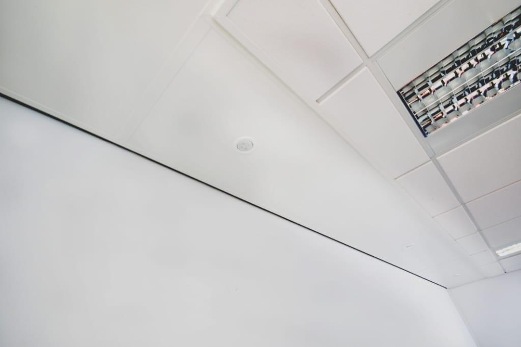 Perimeter Heating Panel c/w Light Fittings