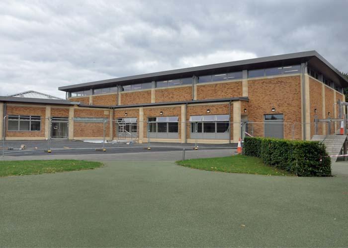 Manor Preparatory School - New Sports Hall Building