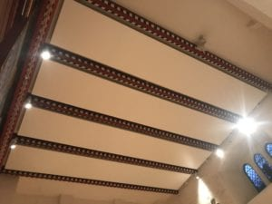 Solray Electric Radiant Panels installed at St Martin of Tours Church in Epsom
